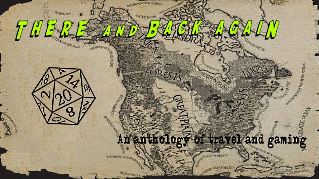 Project image for There and Back Again: An Anthology of Travel and Gaming