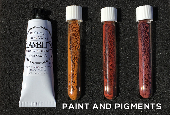 Gamblin Limited AMD paint + pigments
