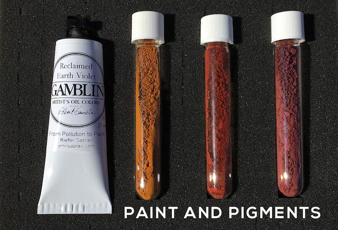 Gamblin Limited AMD paint + pigments