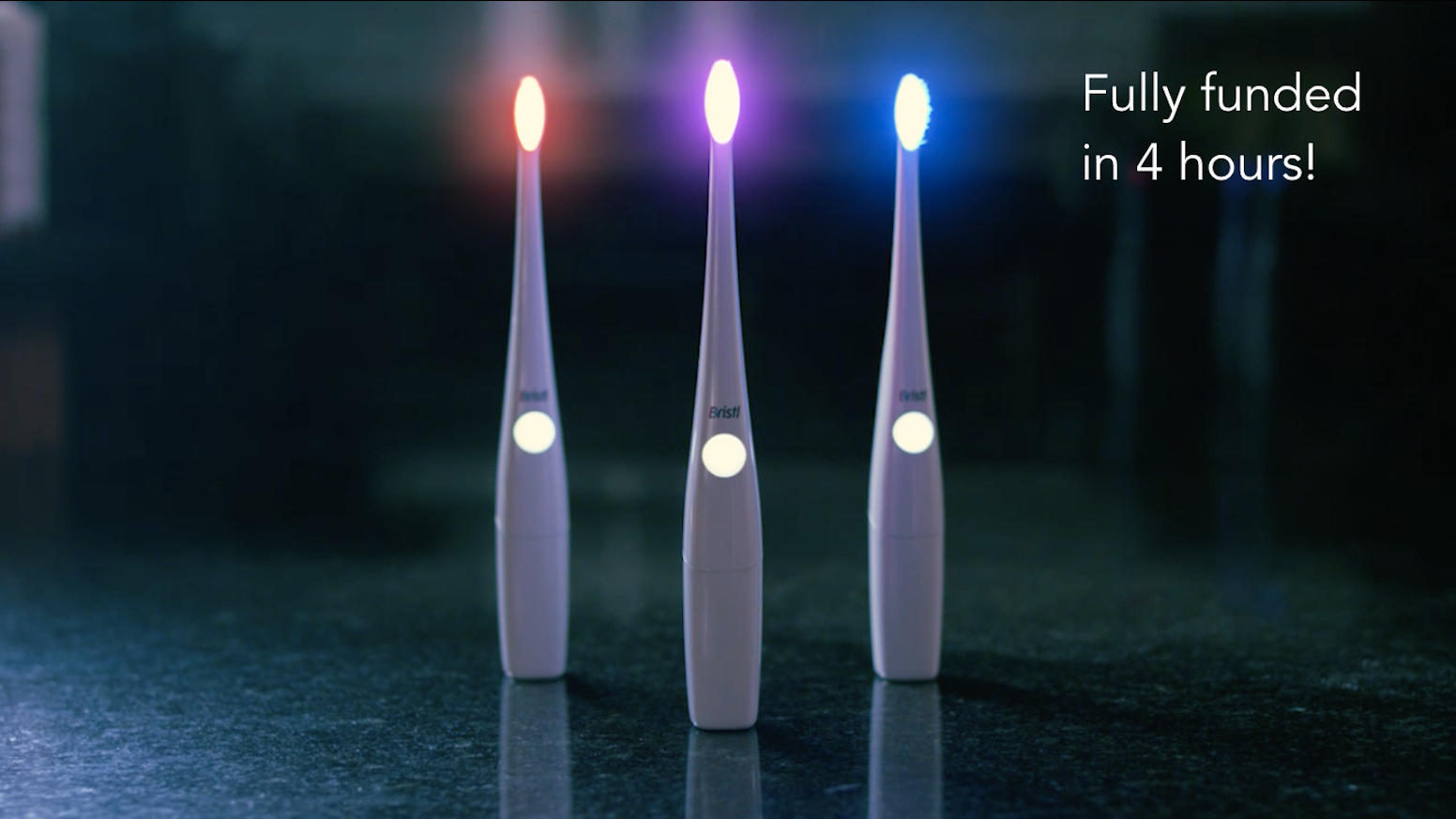 The toothbrush that combines sonic vibration and clinically validated light therapy to heal gums, kill bacteria, and whiten teeth.