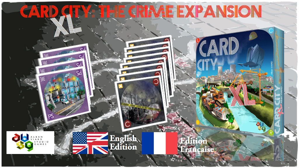 Card City XL The Crime expansion project video thumbnail