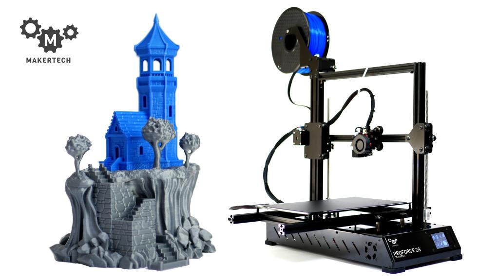Printer Dual By Extrusion Revolutionising Proforge 23d N0Om8ynwPv
