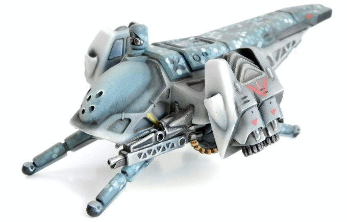 """Chicharra """"Warbird"""" painted by Led&Minis"""