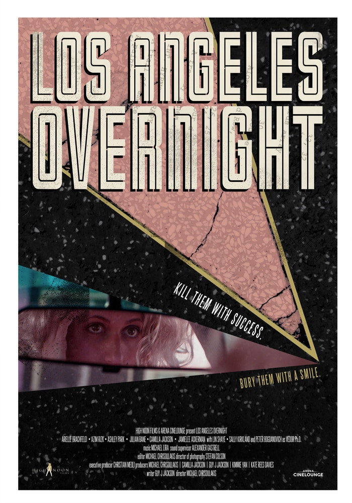 Los Angeles Overnight is an L.A. film noir about a desperate actress who steals big from the LA Underworld to fund her Hollywood ambitions.