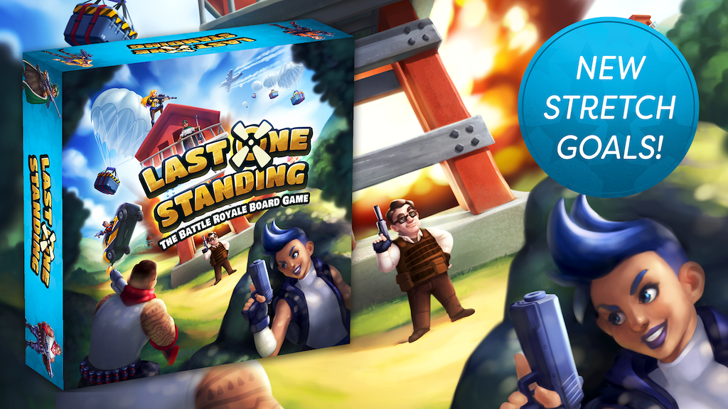 Last One Standing: The Battle Royale Board Game project video thumbnail