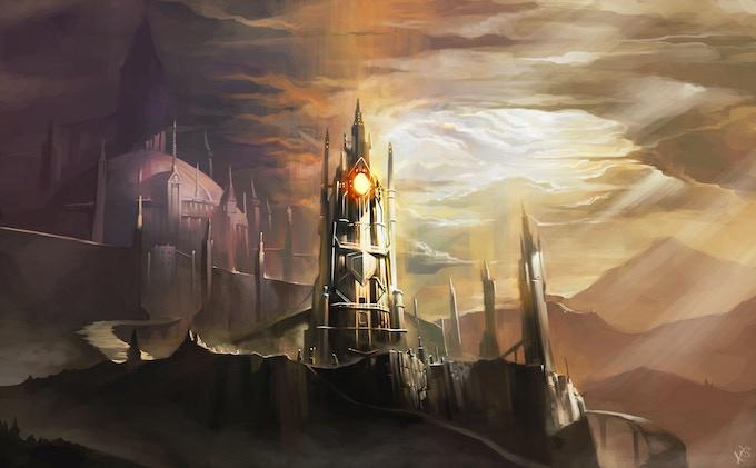 Watch Tower by Wizyakuza