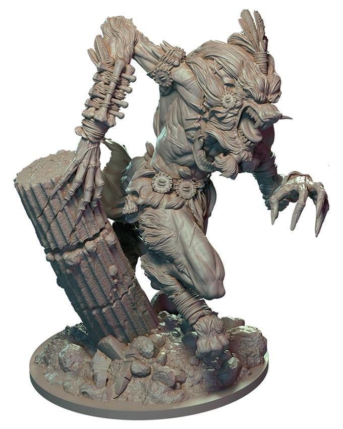 Sculpt by James W. Cain