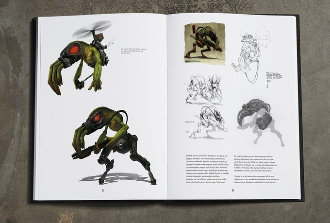 Sligs, Oddworld's race of merciless enforcers