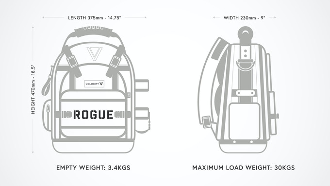 Velocity Rogue 5.0 The Ultimate Install-Service Backpack