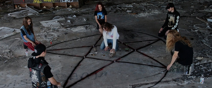 Lucifer's Satanic Daughter - A Psychedelic Slasher Film by Chandler