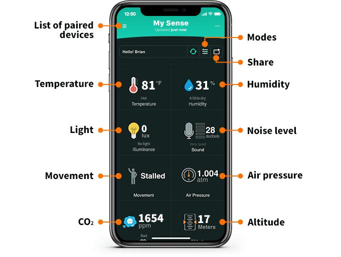 MicroBot Sense App