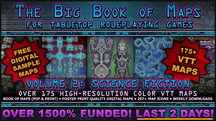 The Big Book of Maps (for Tabletop Roleplaying Games) by