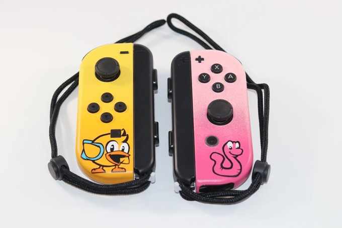 Custom Chicken Wiggle Workshop Joy-Cons created by @Cptn_Alex