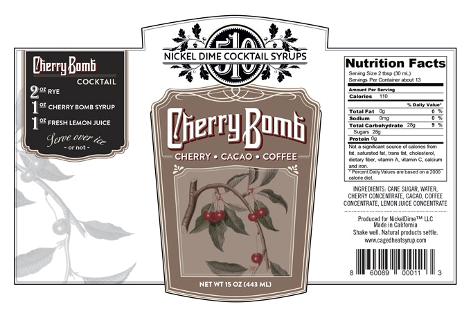 CHERRY BOMB, ingredients subject to change