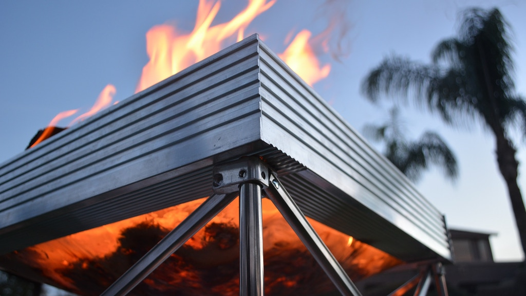 Pop-Up Fire Pit: Portable, Adaptable, Burns With Less Smoke project video thumbnail