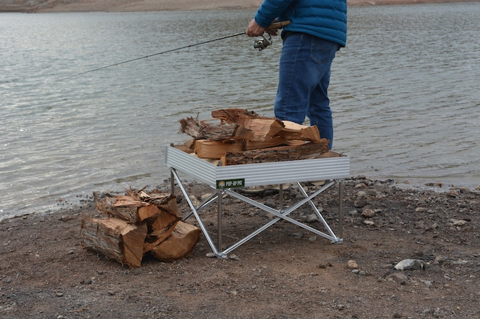 The Pop-Up Pit Goes Anywhere From the beach to the Alps, right to your favorite fishin' spot
