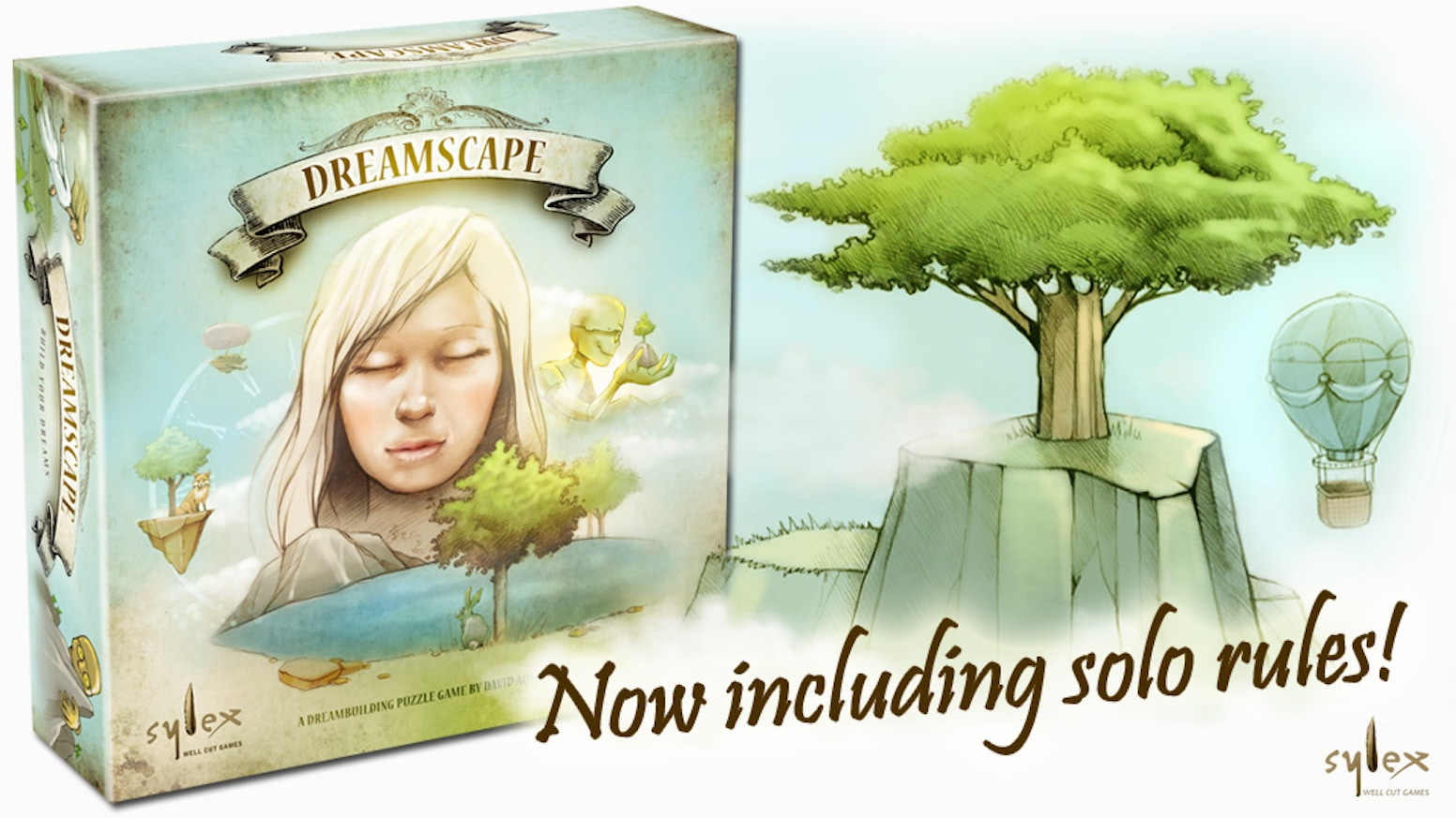 """Create and explore your own enchanted """"dreamscape"""" in this deep and unique game for 1 to 4 players."""