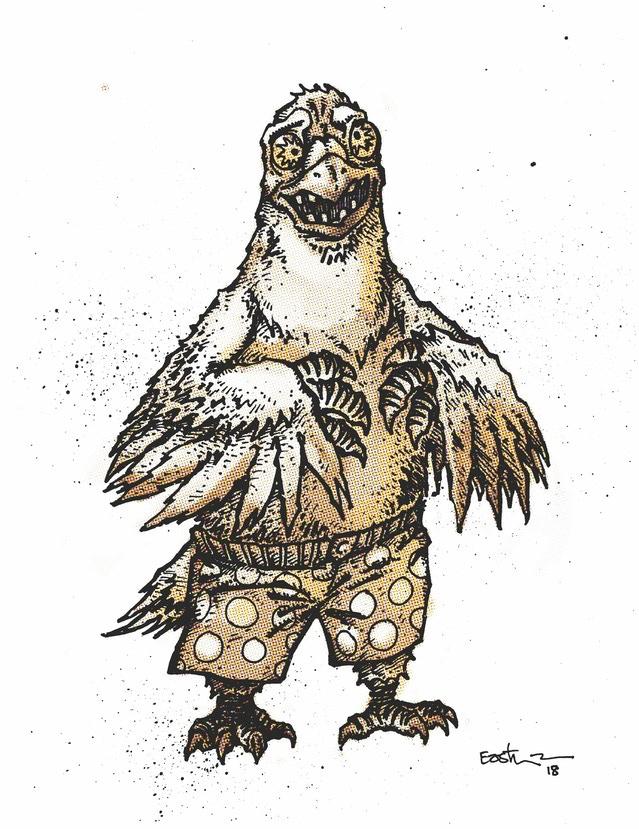 Pigeon Pete - Duoshade Variant Art