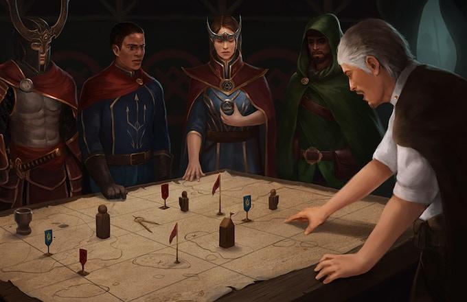 Dragon-Blooded Kickstarter Illustration #2