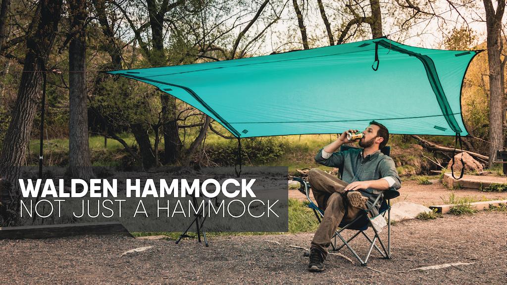 Walden Hammocks: 3-in-1 Hammock, Shelter, Camping Blanket project video thumbnail