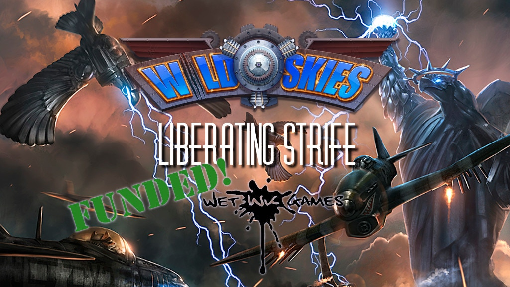 Wild Skies: Liberating Strife, a table-top RPG expansion. project video thumbnail