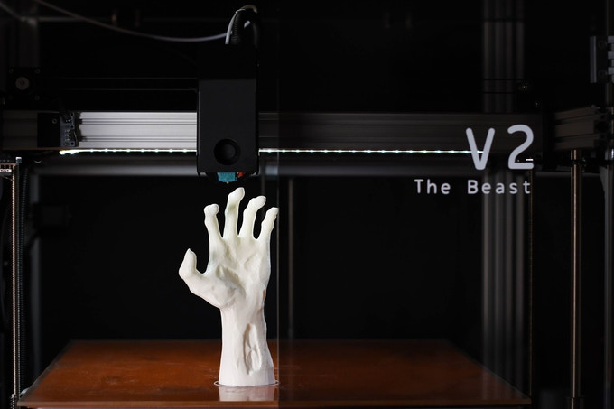 A 3D Printed Prosthetic Hand