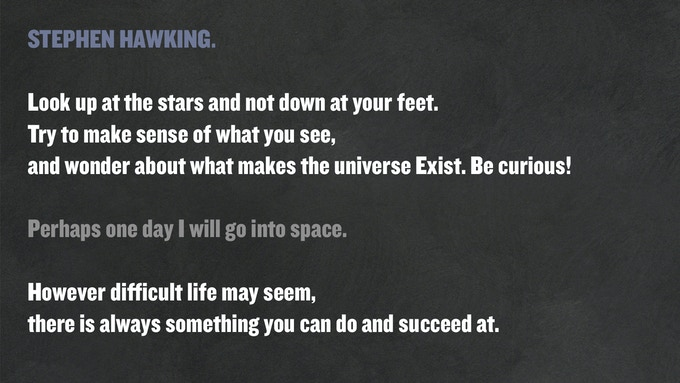 Quotes of Stephen Hawking