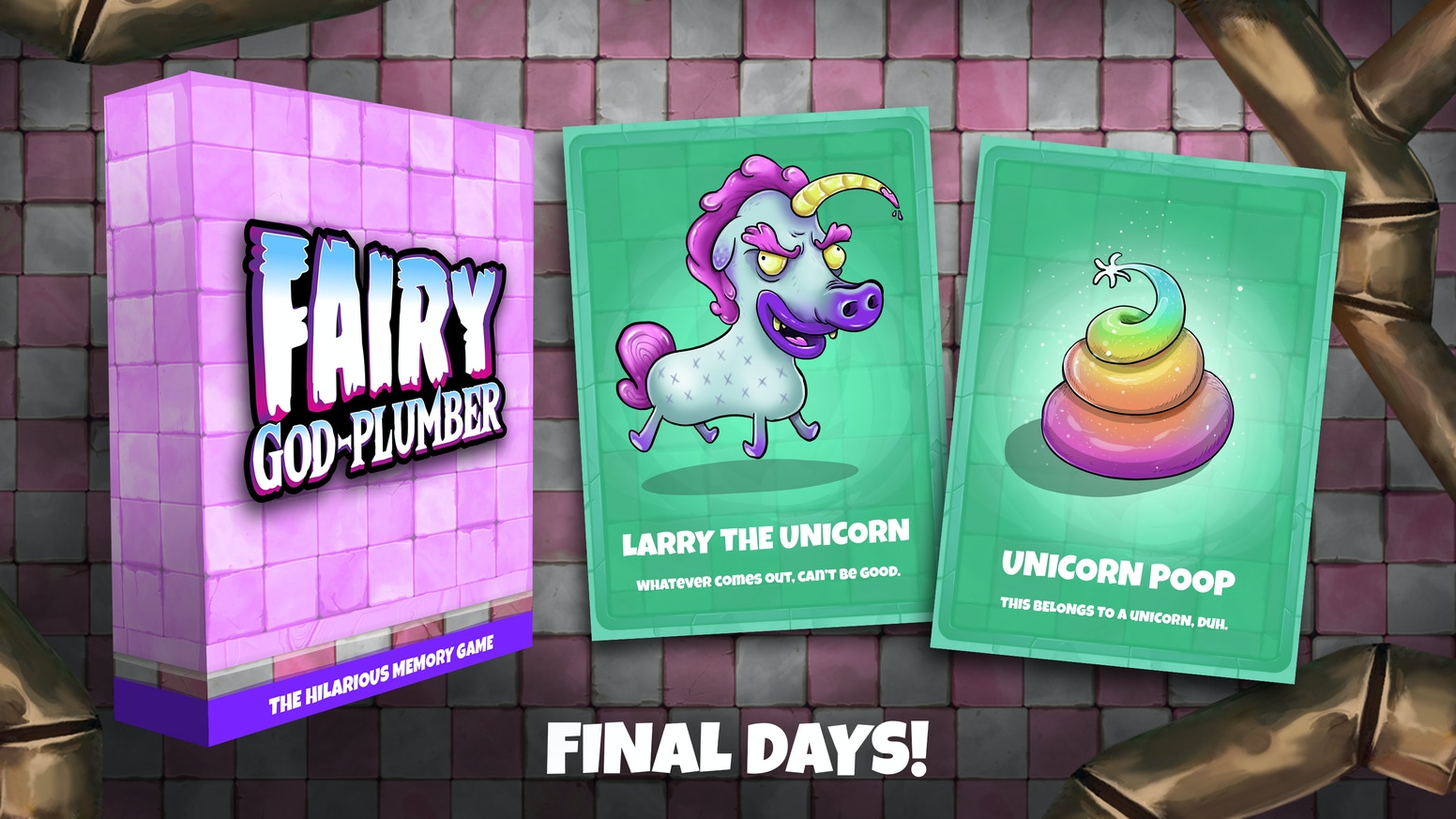 Become a Fairy God Plumber and help mythical beasts and magical residents unclog their toilets but beware of the hazards!