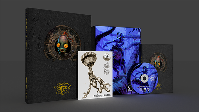 Oddworld: Abe's Origins Book and Game Collection