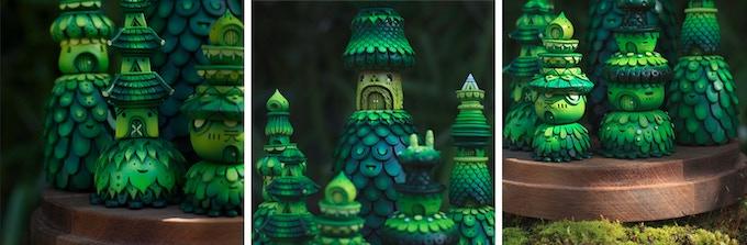 Forest Temple scene details