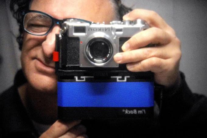 Nikon S2 50mm f 1.8 (1952) + I'm Back®