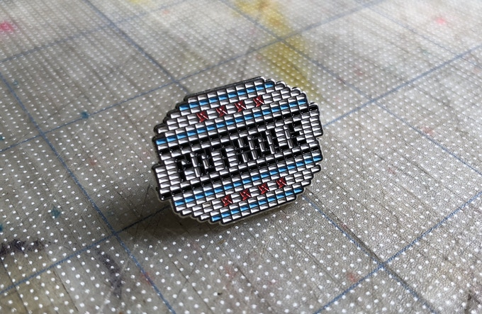 $8 gets you an original POTHOLE pin!
