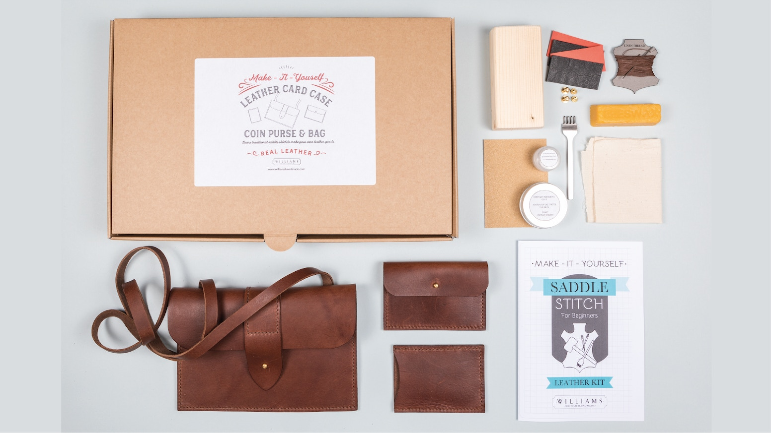 Make it yourself leather accessories kits by sarah williams make it yourself leather accessories kits solutioingenieria Gallery