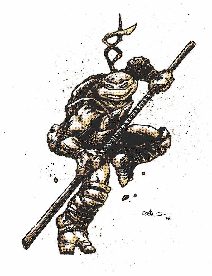 Donatello - Duoshade Variant Art