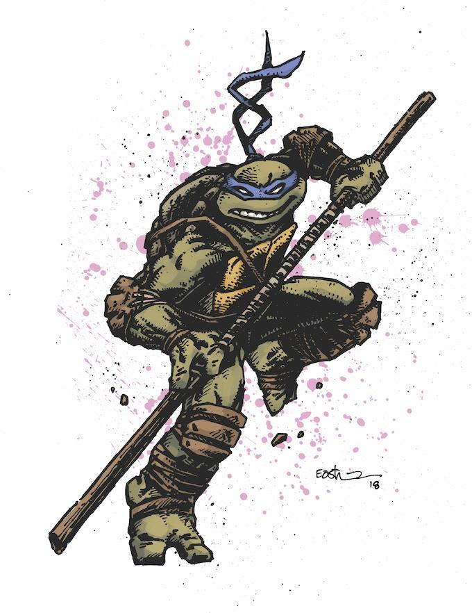 Donatello  - Full Color Art
