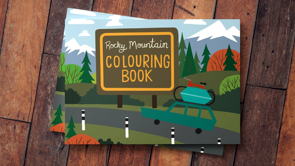 Rocky Mountain Colouring book project video thumbnail