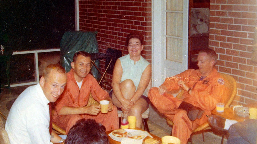 Astronauts on the Front Porch
