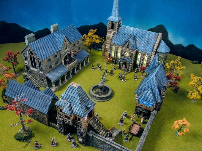 Attack on Wightwood Abbey!