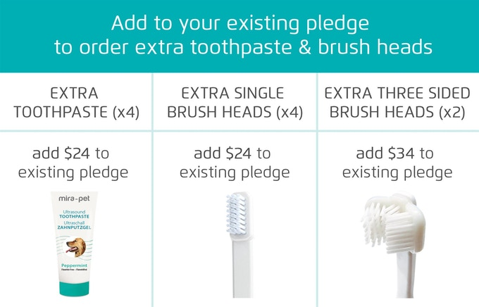 Mira-Pet ▫ The toothbrush that cleans more than any other