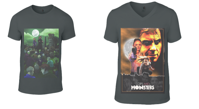 Cops and Monsters T-Shirts!
