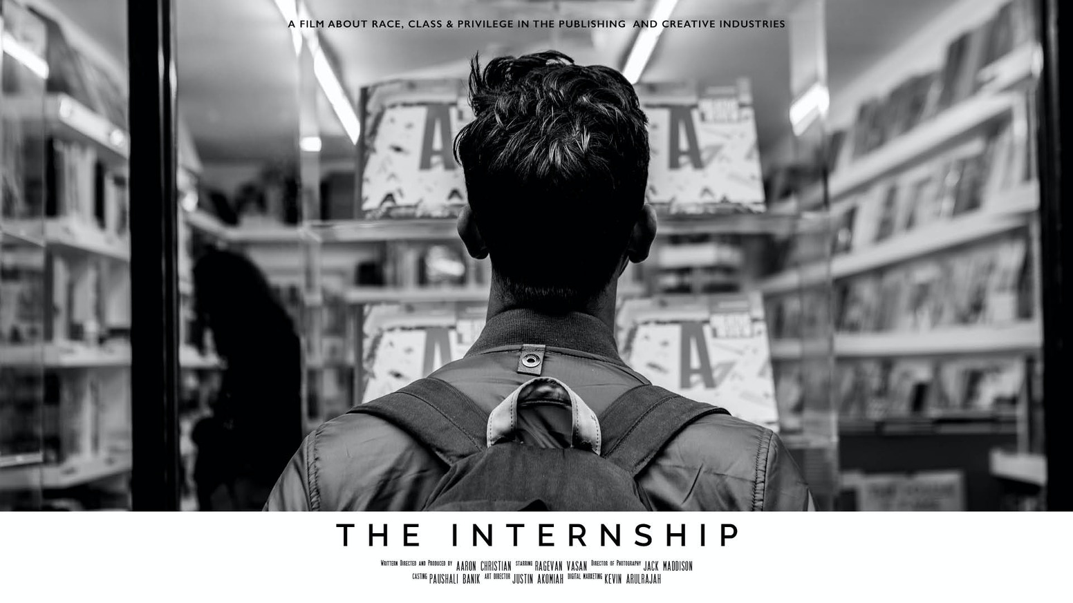 A short film about race, class and privilege within the publishing industry.