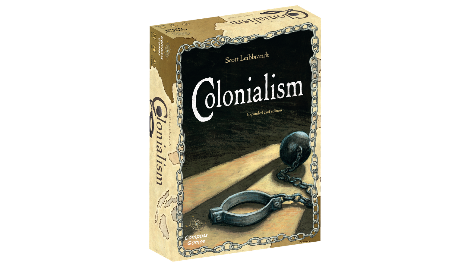 Colonialism is a game of 19th and early 20th century imperialism.  This is the new and expanded version of this highly successful game.
