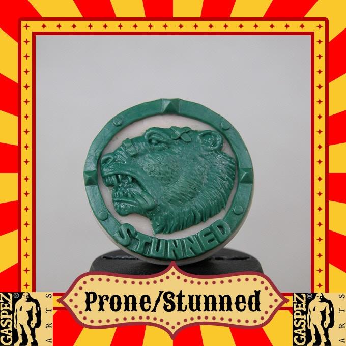 STUNNED-PRONE  BEAR SIDE B
