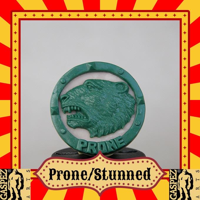 STUNNED-PRONE  OGRE SIDE B