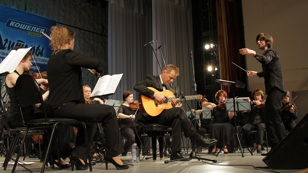 """concerto for guitar & symphony orchestra """"På Herrens Mark"""" project video thumbnail"""