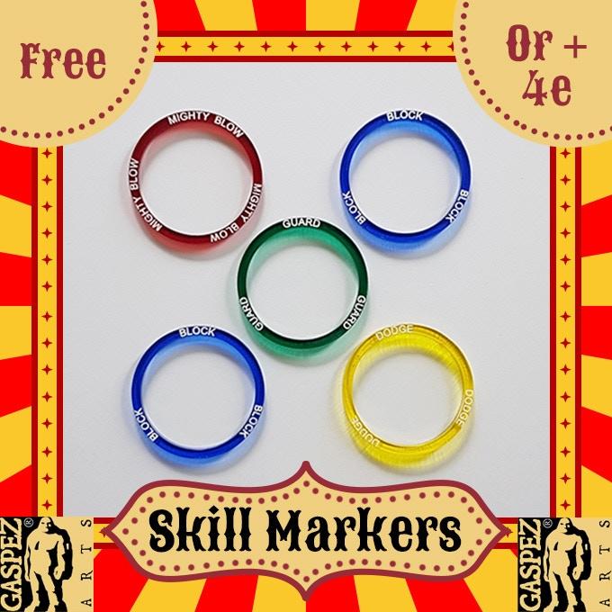 5 SKILL MARKERS