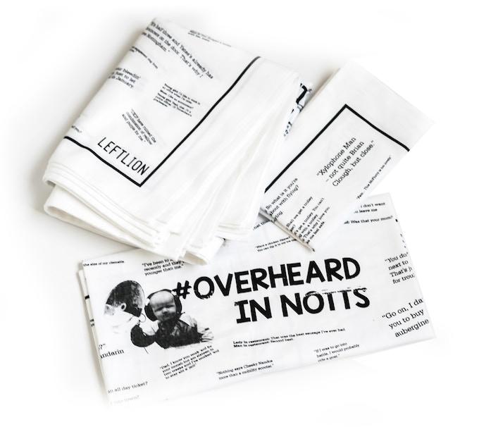 The Overheard In Notts Tea Towel