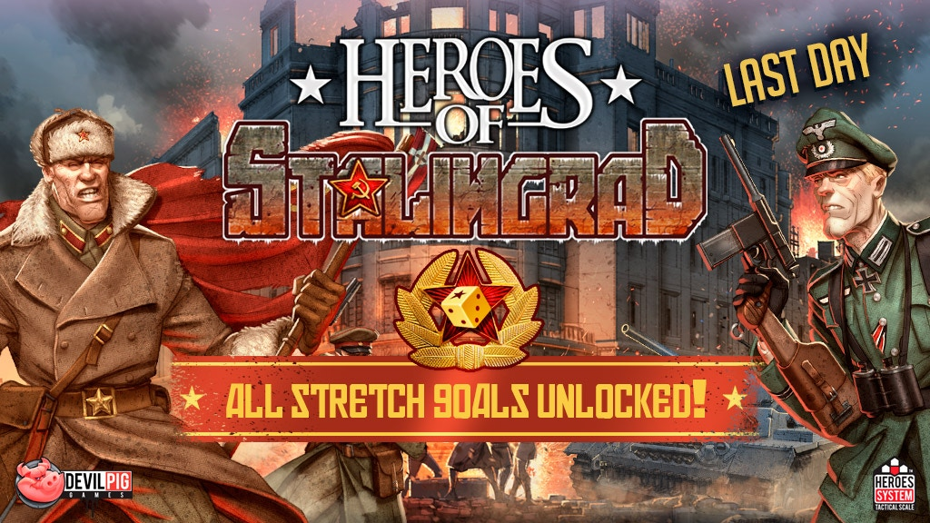 Heroes of Stalingrad - WW2 wargame on the Eastern Front project video thumbnail