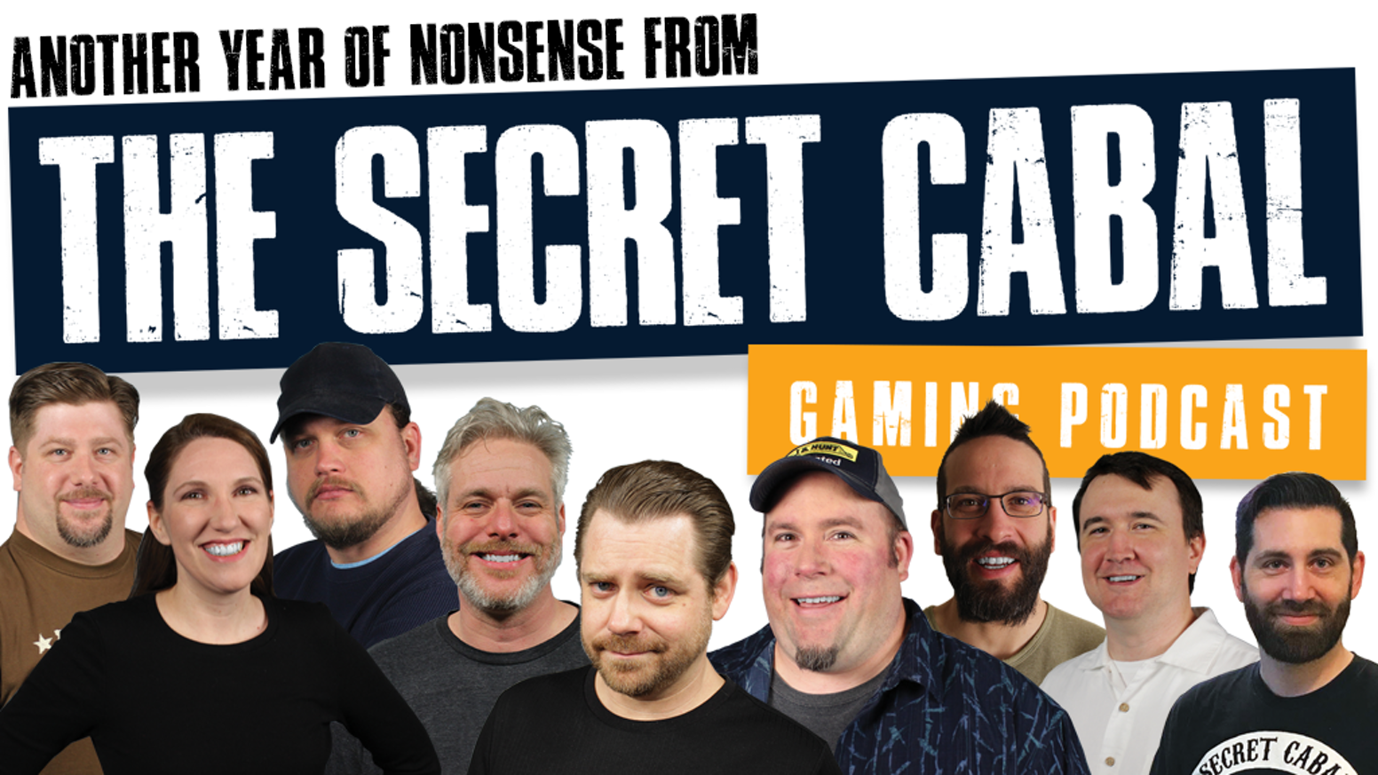 The Secret Cabal creates over 60 tabletop gaming podcast episodes per year plus videos, live streams, audio dramas and more.