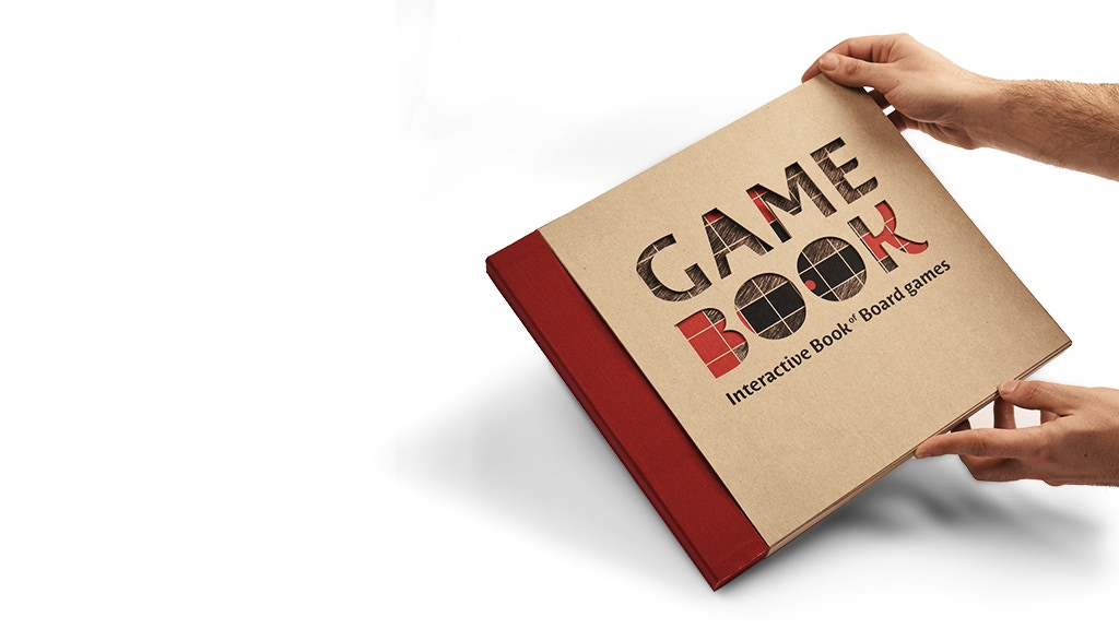GAMEBOOK - Interactive Book of Board Games project video thumbnail